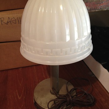 What era is this desk lamp?