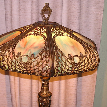 Antique Table Lamp - Lamps