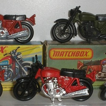 matchbox hondarora - Model Cars
