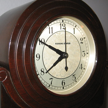 Art Deco Manning-Bowman clock