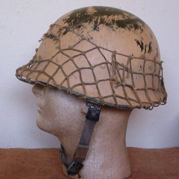 IRAQI Helmet from DESERT STORM 1991