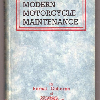 1950 - Modern Motorcycle Maintenance - Books