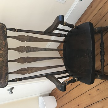 Looking for more info on this Nichols & Stone rocker