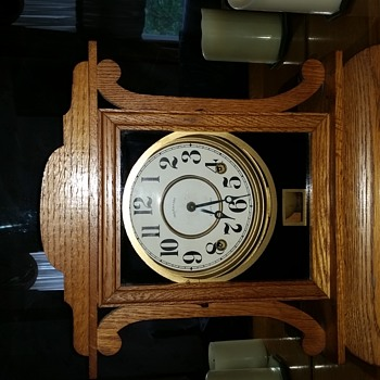 My grandparents clock.