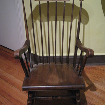 boston rocking chair? - Furniture