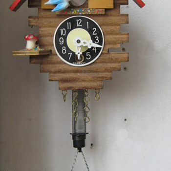 Vintage 1960's german mini pendulette. - Clocks