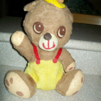 Unknown Old Teddy Bear