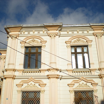 Art Nouveau houses in Vidin, Bulgaria. - Art Nouveau