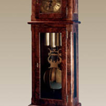 Hand Milled Grandfather Clock - Clocks