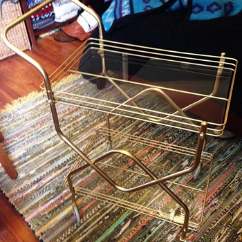 Vintage Bar Cart - Kitchen