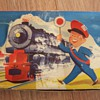 KEY WIND TIN TOY TRAIN FROM WESTERN ZONE GERMANY