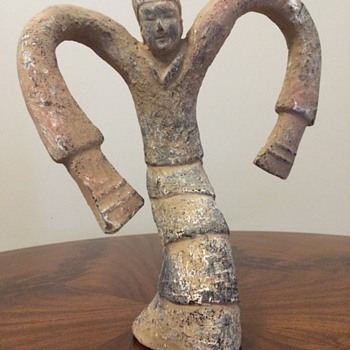 Han Dynasty Dancing Lady Pottery
