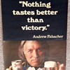 """JAX BEER """"Nothing tastes better than victory"""" Andrew Fabacher Poster"""