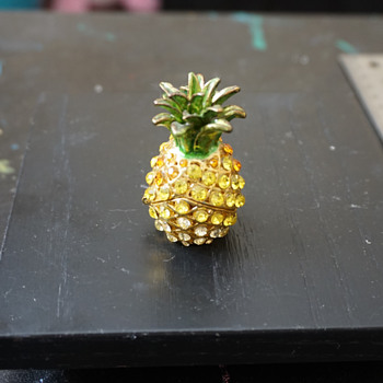 Pineapple Trinket Box