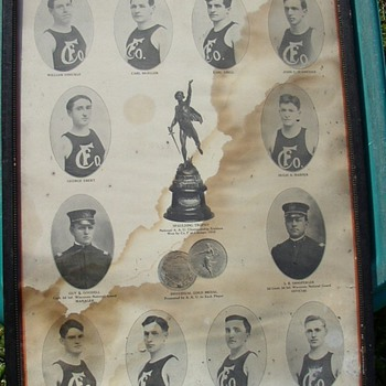 1910 US Basketball Champs  - Posters and Prints