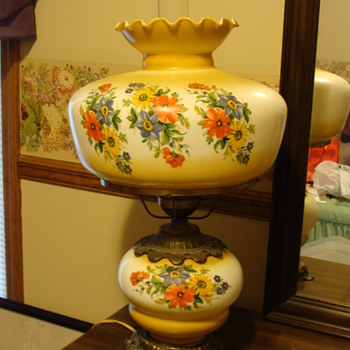 vintage Hurricane Lamps - Lamps