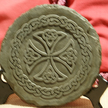 Symbol Carved Stone