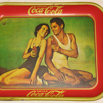 1934 COCA COLA TRAY - Coca-Cola