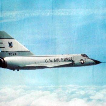 "U.S. Air Force Photo Poster - ""F-106 Delta Dart"""