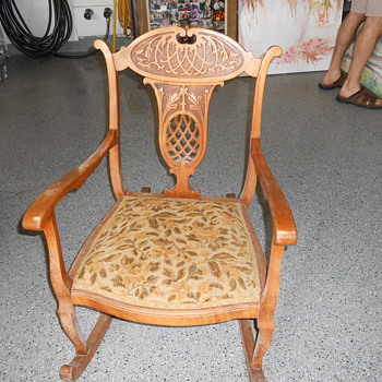 grandmother's rocker - Furniture