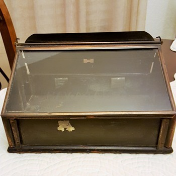 Vintage Hav-A-Tampa Cigar Store Display Case - Tobacciana