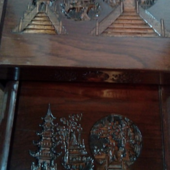 My Japanese carved tables - Asian