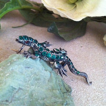 Little green paste silver lizard (again!).