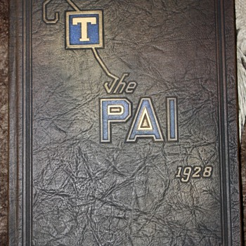 The Pai 1928 - Mount Tamalpais Union High School Yearbook - Books