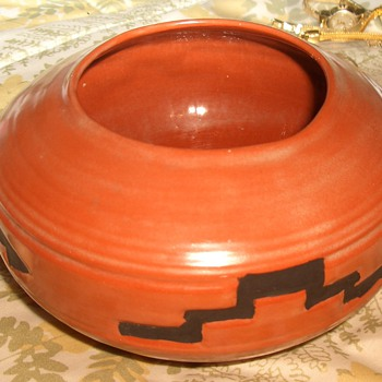 "Native American Pottery by ""Fausty"" - Native American"