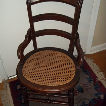 Estate auction purchase - chair