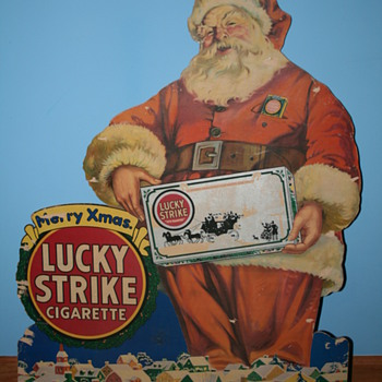 santa - Advertising