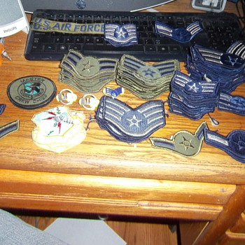 USAF patches and pins - Military and Wartime