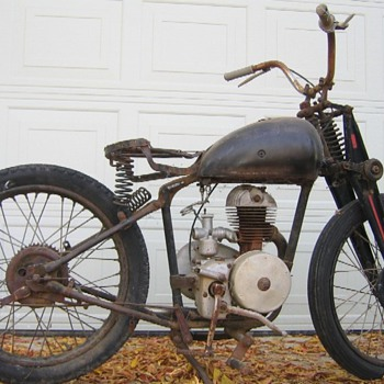 Villier's Engineering motorcycle, vintage of around 1935-1944? Help indentify please - Motorcycles