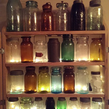 My jar collection - Bottles
