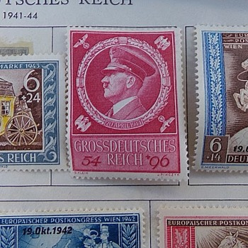 Estate Sale's Nazi Stamps - Stamps