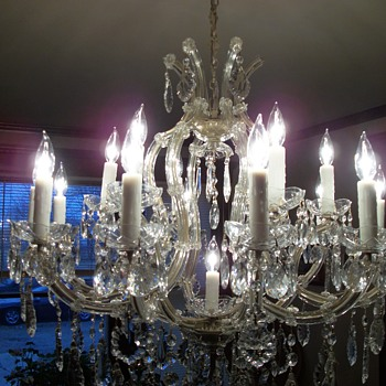 Turn of the Century Chandelier - Lamps