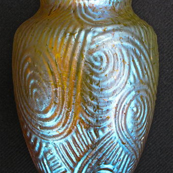 Loetz Spiraloptisch c.1904 - Art Glass