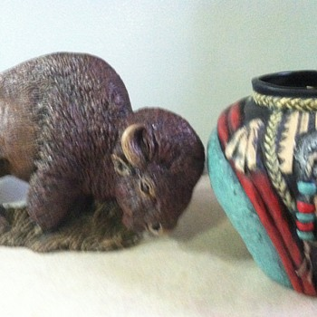 A few more pieces by J. Marie - Art Pottery