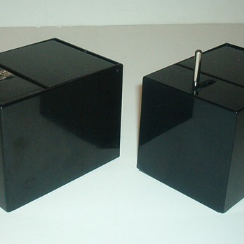 Little Black Box by Poynter Products 1959 - 2 Versions