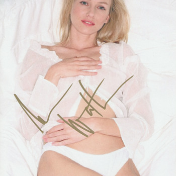 Naomi Watts Authentic Hand-Signed Photo (2007) - Photographs