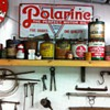 Polarine sign 1923, Phillips sign 1956,Dupont top sealer from 1930's,Lincoln auto dusting cloth 1940's