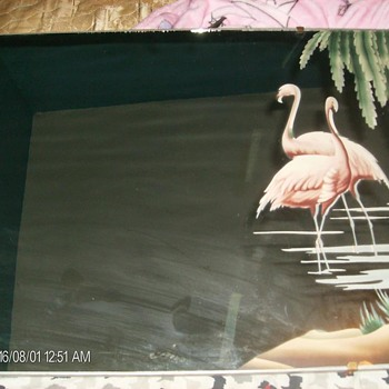 flamingo mirror - Furniture