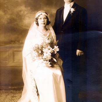 Grandparents Wedding Day Photo