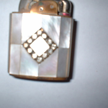 Art Deco Lighter - Tobacciana