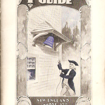 1898 New England Tel & Tel Telephone Guide
