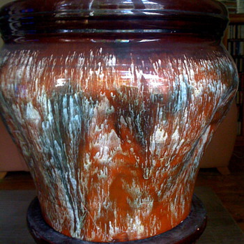 My favorite Lindthorp/Dr Dresser?? not sure really but looks very much like it. - Art Pottery