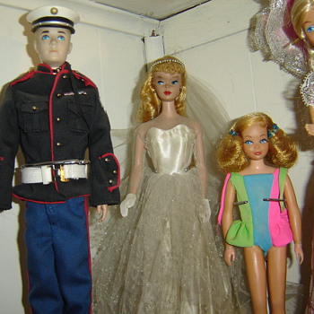 Various Vintage Barbies - Dolls