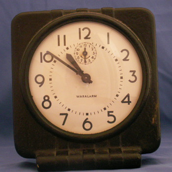 Western Clock Co. / Westclox War Alarm Clock