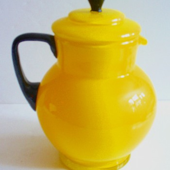 CZECH TANGO PITCHER, MAYBE LATE LOETZ.