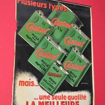 castrol poster